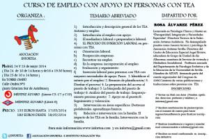 folleto curso empleo con apoyo